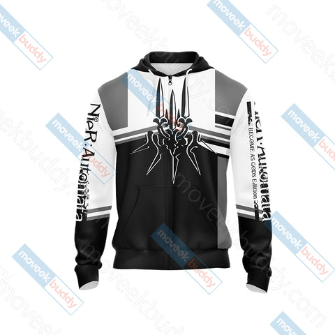 Image of NieR: Automata New Unisex Zip Up Hoodie Jacket
