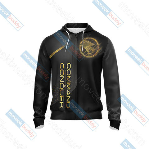 Image of Command & Conquer - Tiberian Unisex Zip Up Hoodie Jacket