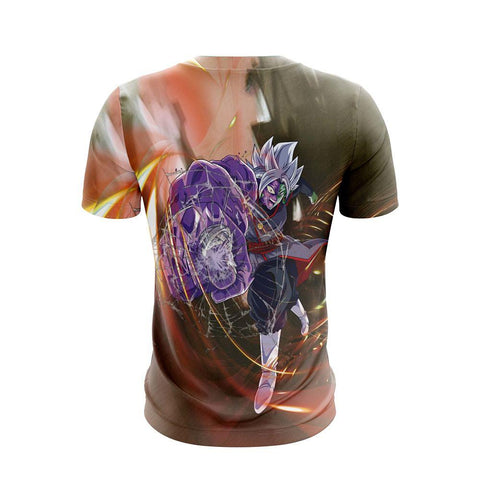 Image of Zamasu (Goku Black) Dragon Ball Anime Lover Unisex 3D T-shirt