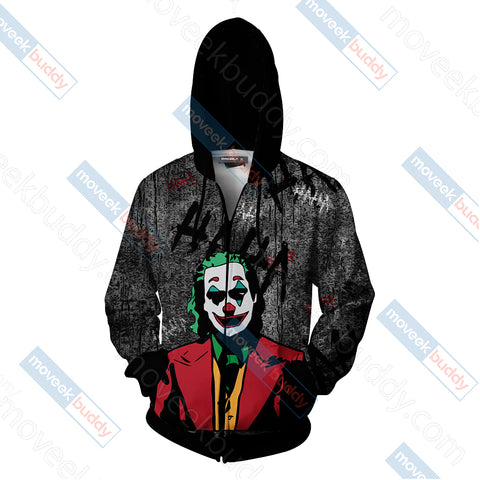 Joker - One bad day can change everything Unisex Zip Up Hoodie Jacket