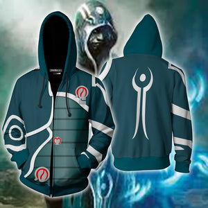 Magic: The Gathering Jace Cosplay Zip Up Hoodie Jacket