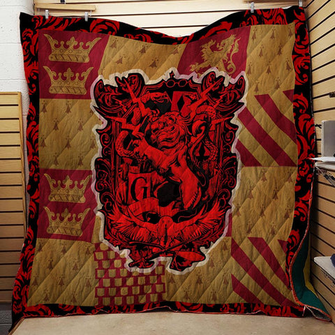 The Gryffindor Lion Harry Potter 3D Quilt Blanket