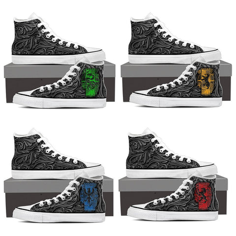Image of Slytherin Harry Potter High Top Shoes