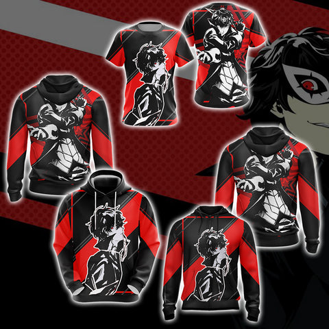 Image of Persona 5 - Joker New Version Unisex 3D T-shirt