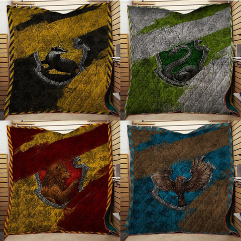 The Ravenclaw House Harry Potter 3D Quilt Blanket