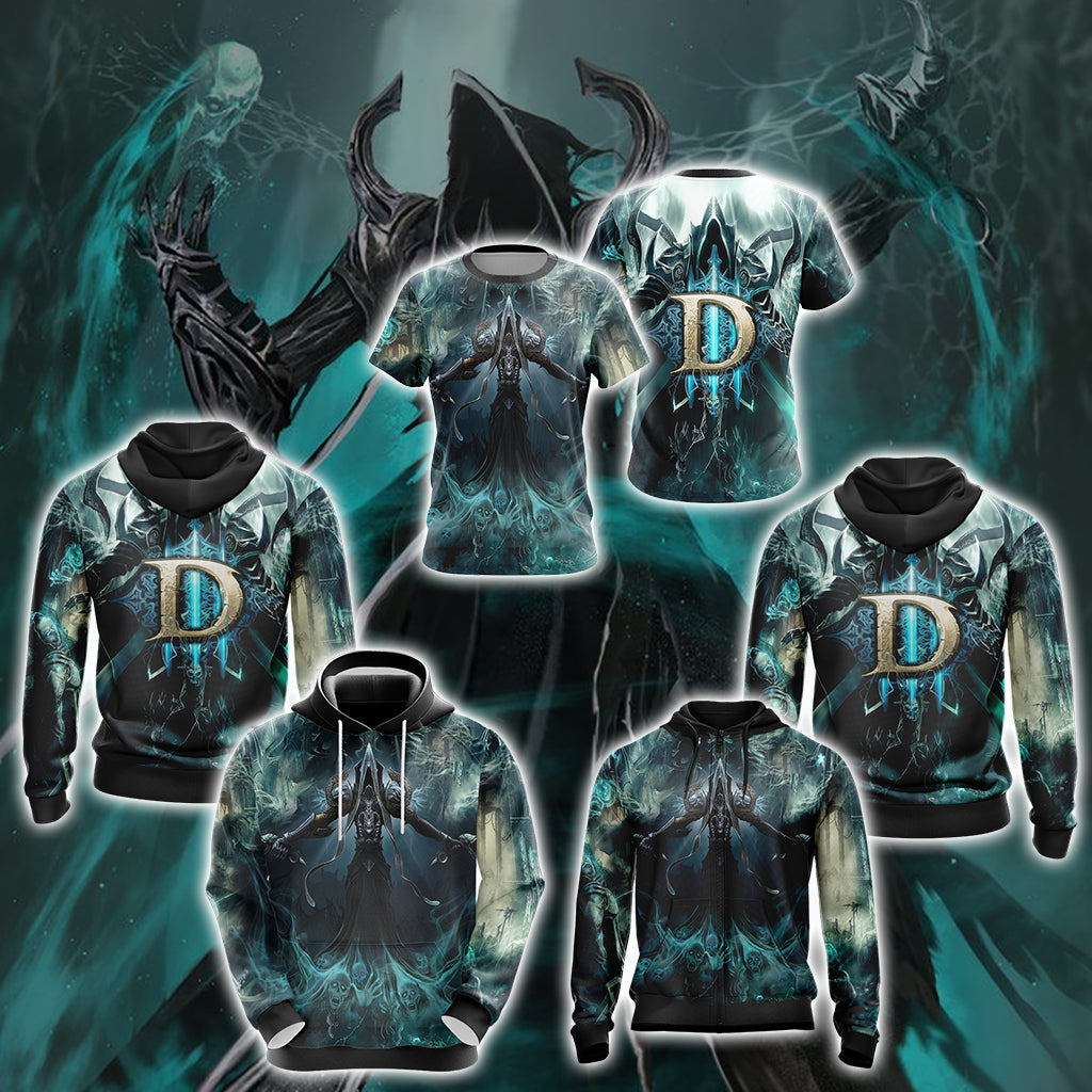 Diablo Diablo Reaper Of Souls Unisex Zip Up Hoodie