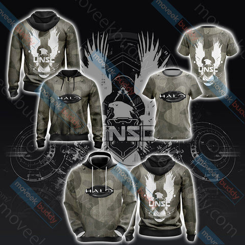 Image of Halo 4 UNSC Unisex 3D Hoodie
