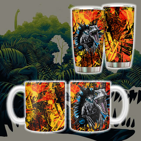 Image of Jurassic Park New Tumbler