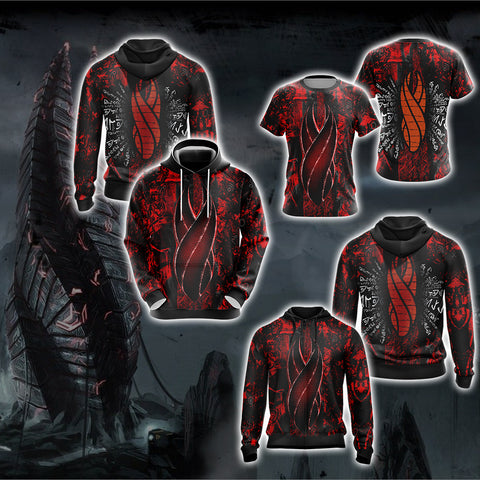 Image of Dead Space - Red Marker New Version Unisex 3D Hoodie