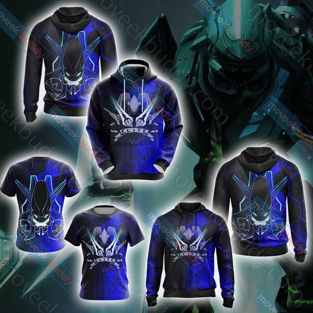 Halo - Elite Energy Sword New Unisex 3D T-shirt