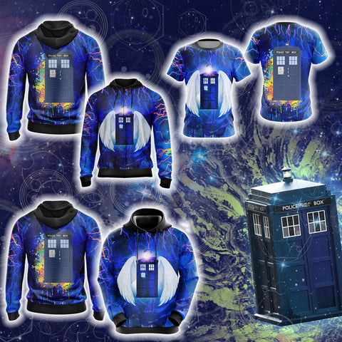 Doctor Who - Tardis New Style Unisex 3D T-shirt