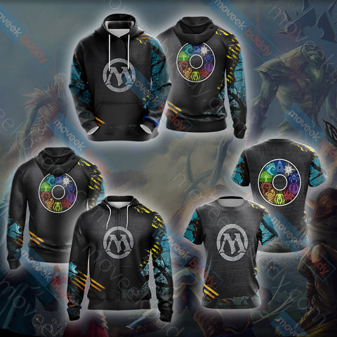 Magic: The Gathering New Unisex 3D Hoodie
