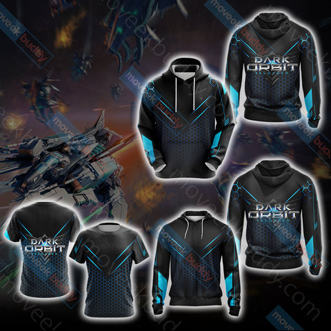 Image of DarkOrbit Unisex 3D T-shirt