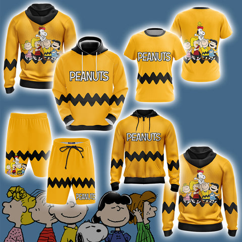 Image of Peanuts Character  Unisex 3D Hoodie