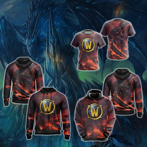 World of Warcraft - Human Rogue Unisex 3D Hoodie