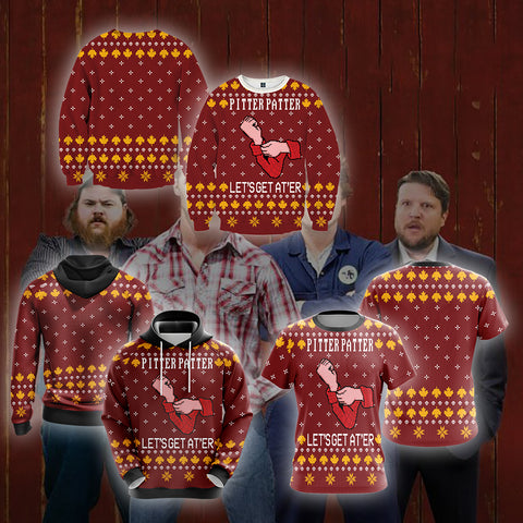 Image of Letterkenny Knitting Style Unisex 3D Sweater