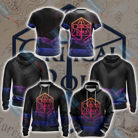 Image of Critical Role Unisex 3D Hoodie