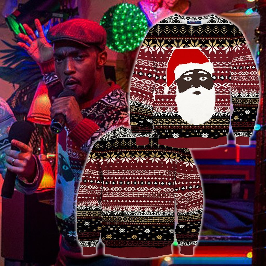The Night Before (2015) Chris Cosplay Ugly Christmas 3D Sweater