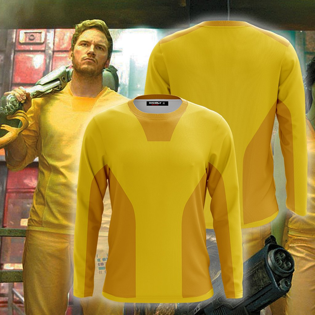 Guardians Of The Galaxy Prison Version Cosplay 3D Long Sleeve Shirt