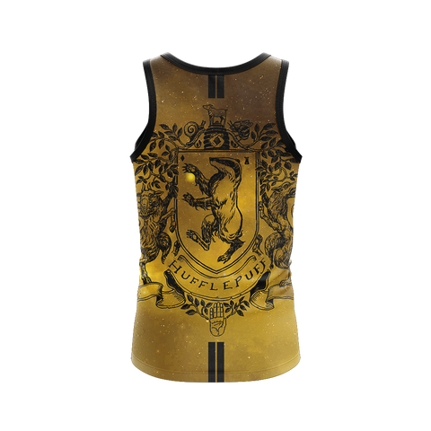 Hufflepuff Edition Harry Potter New 3D Tank Top