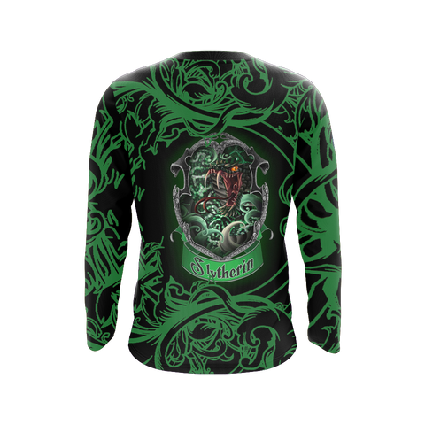 Image of Cunning Like A Slytherin Harry Potter 3D Long Sleeve Shirt