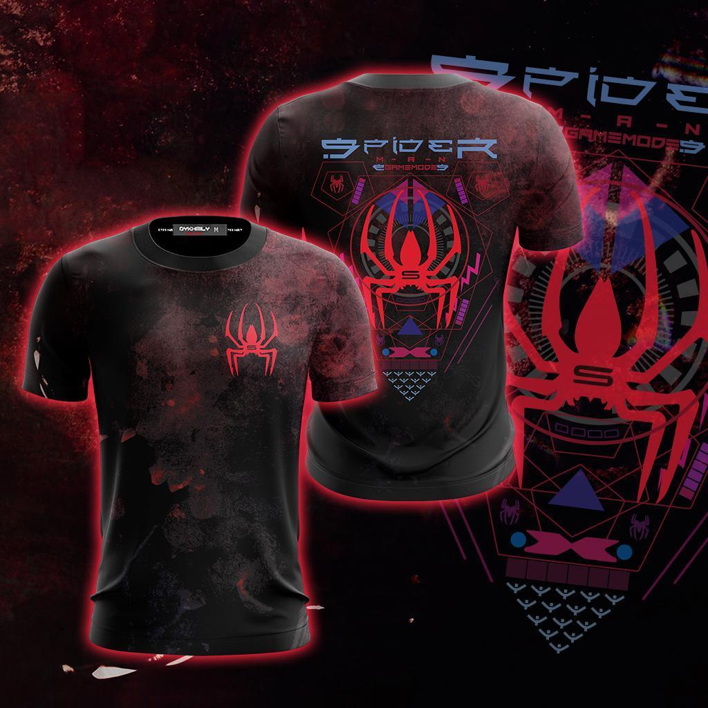 Spider-Man Game Mode Unisex 3D T-shirt