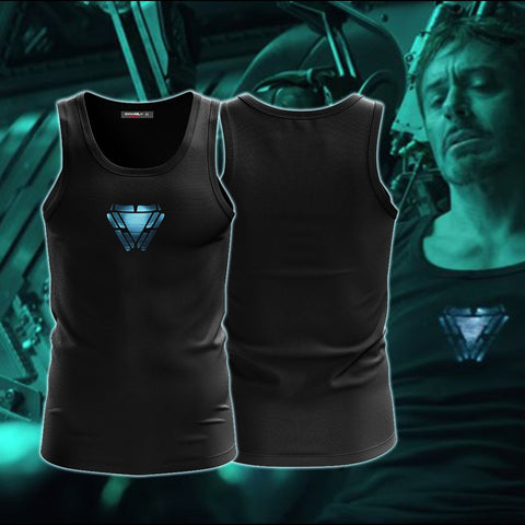 Image of Iron Man (Tony Stark) Cosplay Avenger 4 Tank TopIron Man (Tony Stark) Cosplay Avengers 4 Tank Top