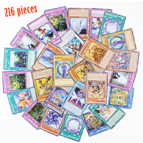 Image of Yu Gi Oh Anime Game Collection Cards 216pcs Set