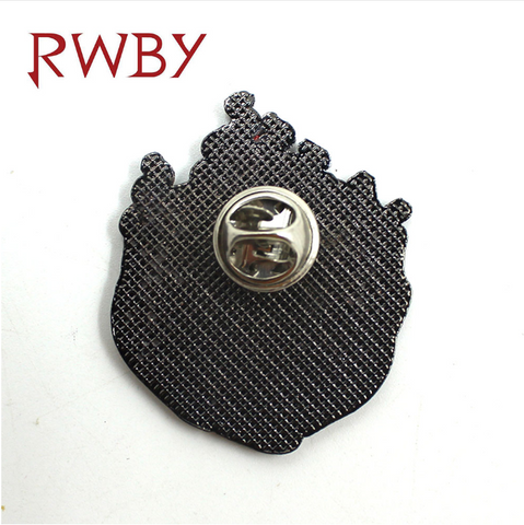 Image of RWBY Ruby Rose Rose Style Metal 4CM Pin Badge Brooch Chespin Costume Accessory