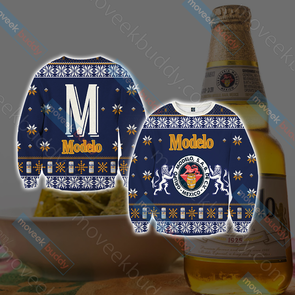 Modelo Version 1 Knitting Style Unisex 3D Sweater