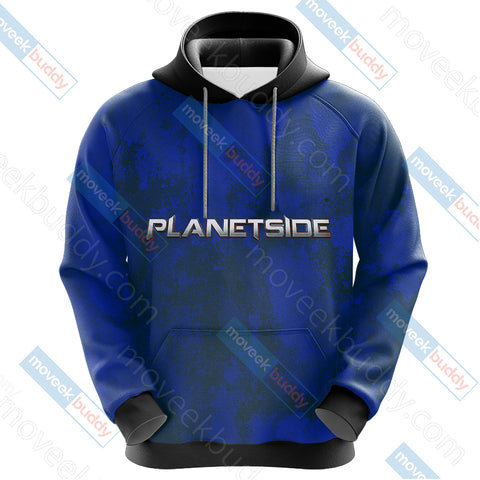 Image of Planetside - New Conglomerate Unisex 3D Hoodie