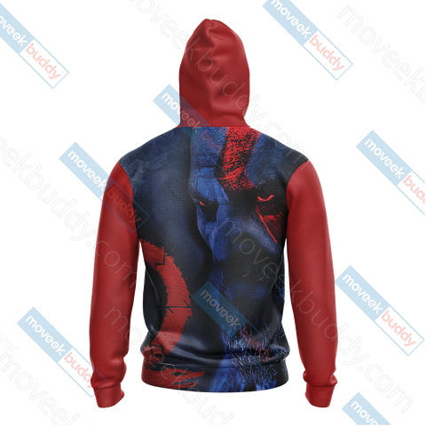 Image of God Of War - Kratos New Collection Unisex 3D Hoodie