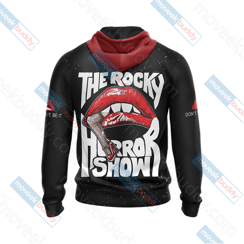 Image of The Rocky Horror Picture Show Unisex Zip Up Hoodie Jacket