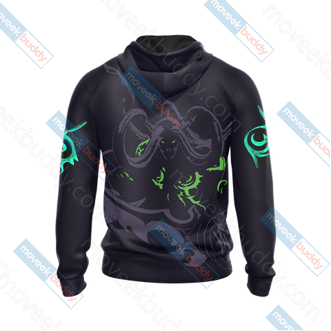 World Of Warcraft - Illidan Stormrage Unisex Zip Up Hoodie