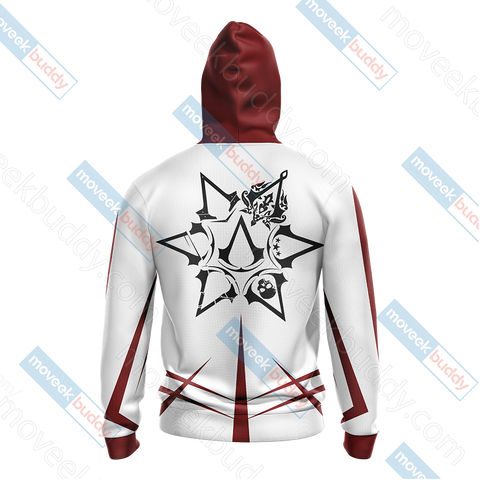 Image of Assassin's Creed New Collection Unisex Zip Up Hoodie Jacket