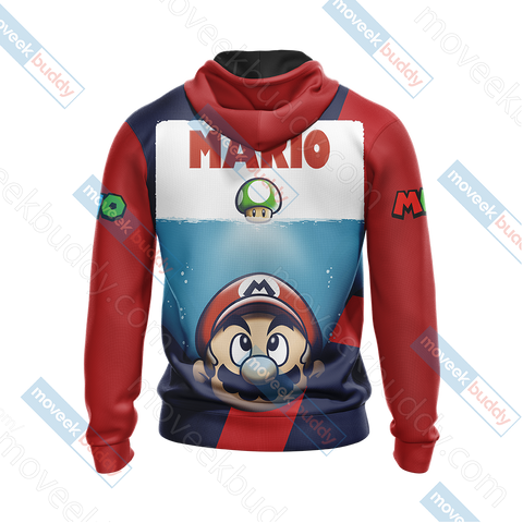 Image of Mario New Collection Unisex 3D Hoodie