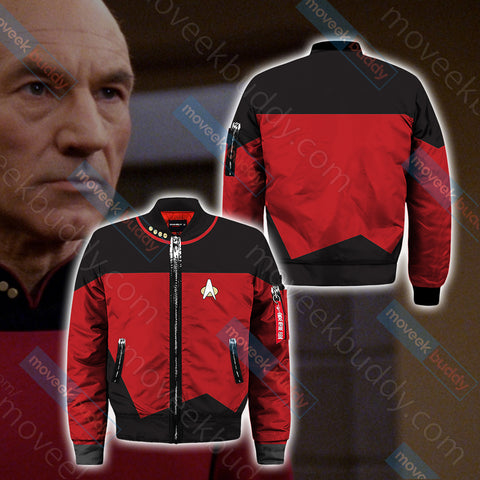 Captain Picard Bomber Jacket