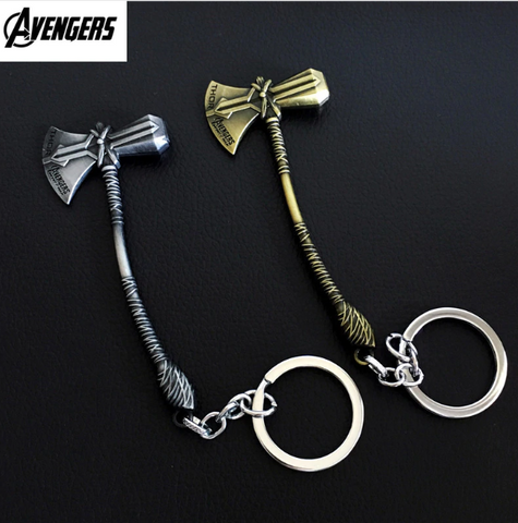 Image of Avengers 3 Infinity War Thor Battle Axe Keychain