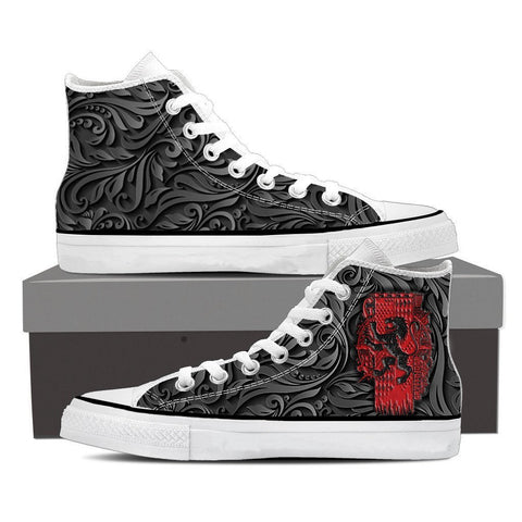 Image of Gryffindor Harry Potter High Top Shoes