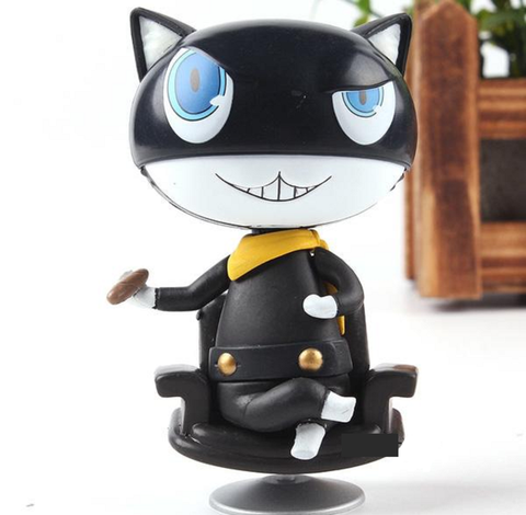 Persona 5 Morgana Variant Mona Black Cat Action Figures Collection Model  Toys