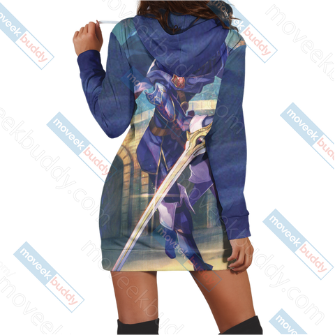 Fire Emblem Lucina 3D Hoodie Dress