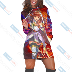 Fire Emblem Celica 3D Hoodie Dress