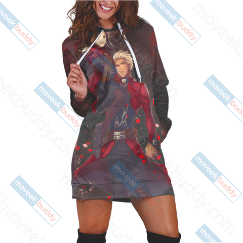 Fate/ Stay Night - Blade And Fate Rin 3D Hoodie Dress