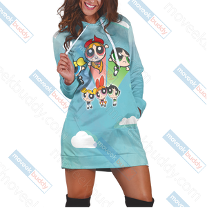 The Powerpuff Girls 3D Hoodie Dress