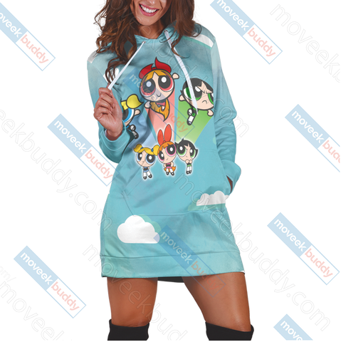 Image of The Powerpuff Girls 3D Hoodie Dress