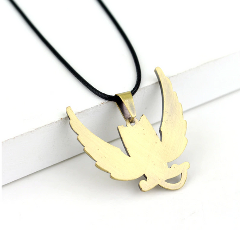 Image of Fairy Tail Happy Golden Color Necklace Accessories