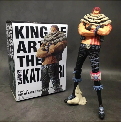 Image of One Piece Charlotte Katakuri Action Figure Toys Doll