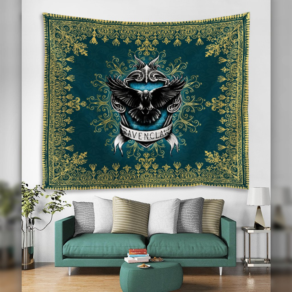 Mandala The Ravenclaw Eagle Harry Potter 3D Tapestry