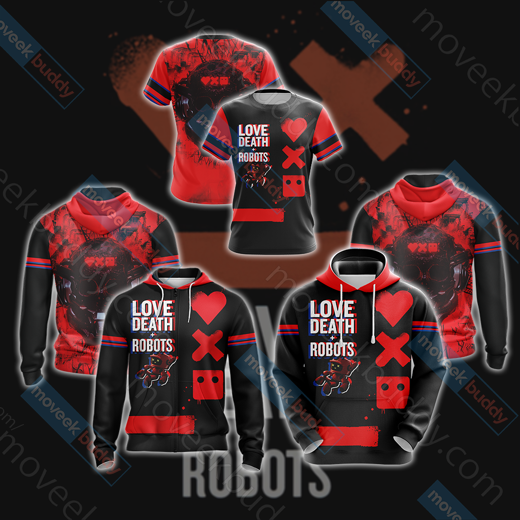 Love, Death & Robots Zip Up Hoodie