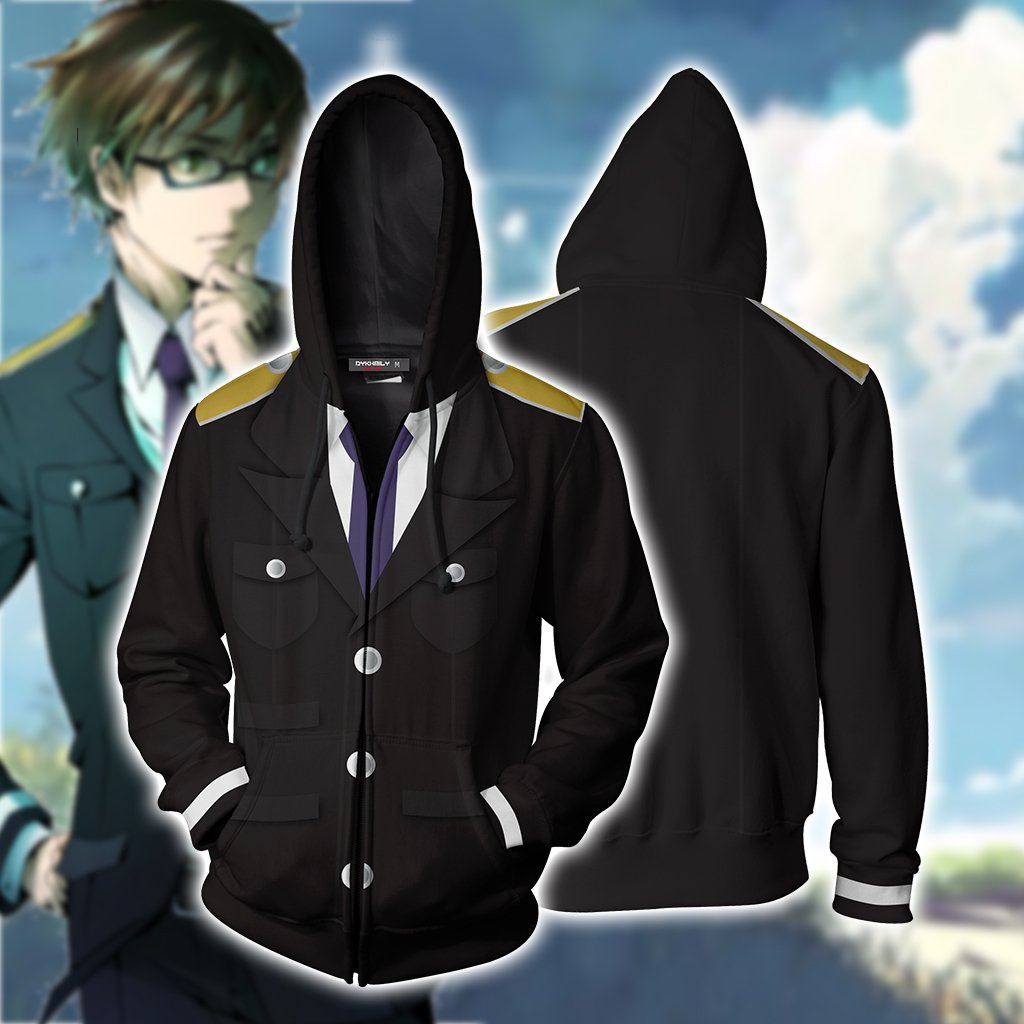 Noragami Kazuma Cosplay Zip Up Hoodie Jacket